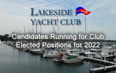 Candidates Running for Club Elected Positions for 2022